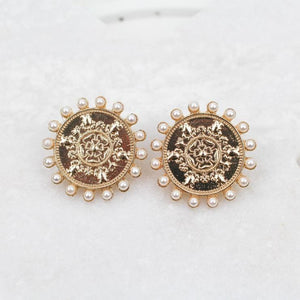MONEDA EARRINGS IN GOLD