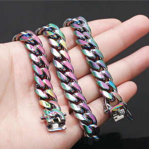 RAINBOW STAINLESS STEEL BRACELET