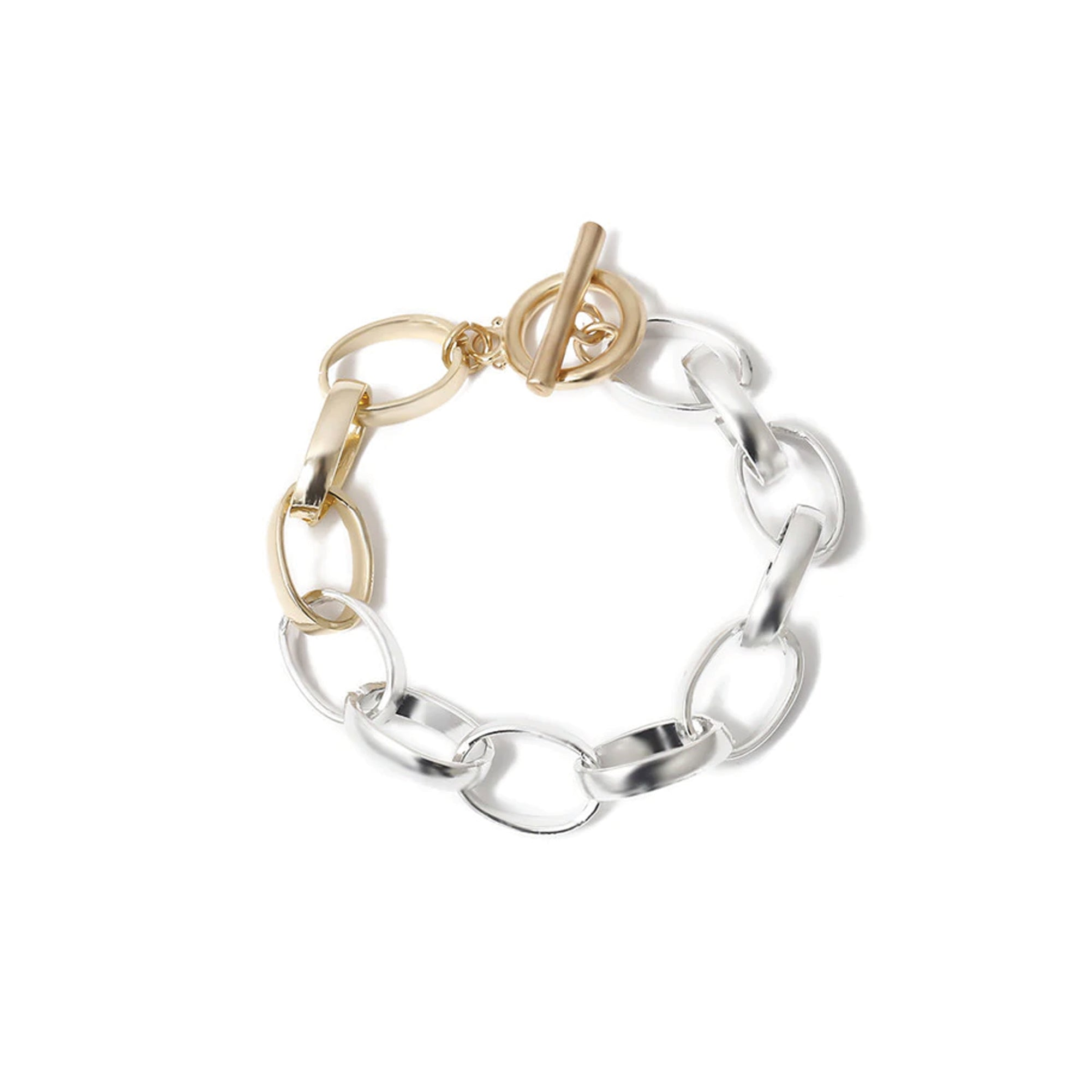 Joey Twisted Circle Bracelets