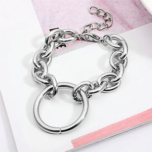 Angela Vintage Silver Necklace/Bracelet (Set)