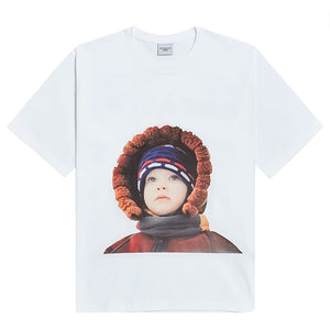 ADLV WHITE MOUTON JACKET TEE