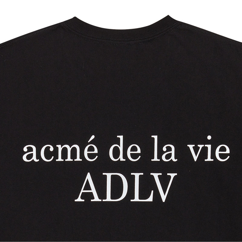 ADLV BLACK WHITE T-SHIRT GIRL