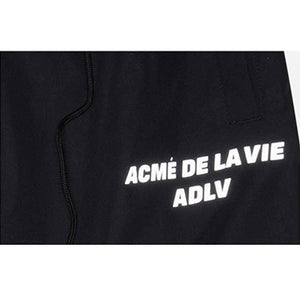 ADLV PIPING PANTS NEON BLACK