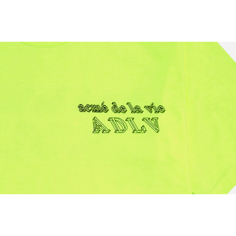 ADLV 3D T-SHIRT NEON YELLOW