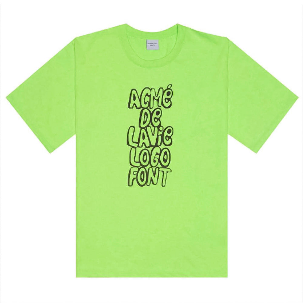 SPRAY LOGO SHORT SLEEVE GREEN