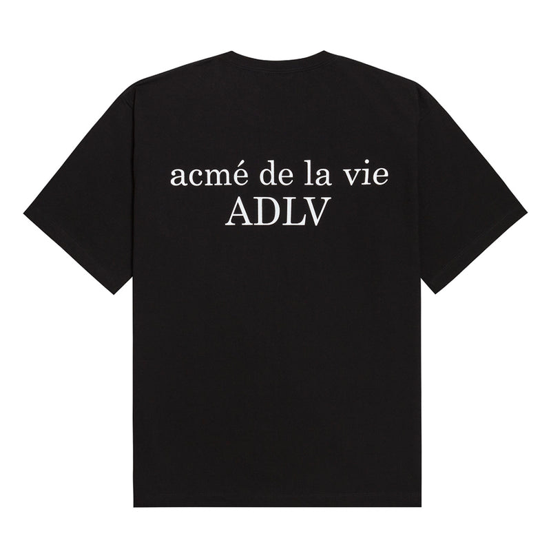 ADLV T-SHIRT BLACK SNOW