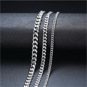CUBAN CHAIN STAINLESS STEEL NECKLACE