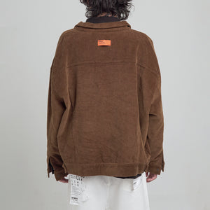 Corduroy Jacket (Brown)