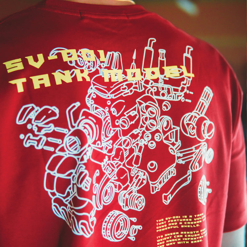 Metal Gear Red Tee