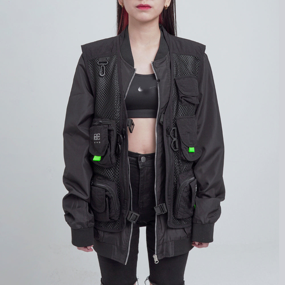 MA1 LAYERED BOMBER JACKET