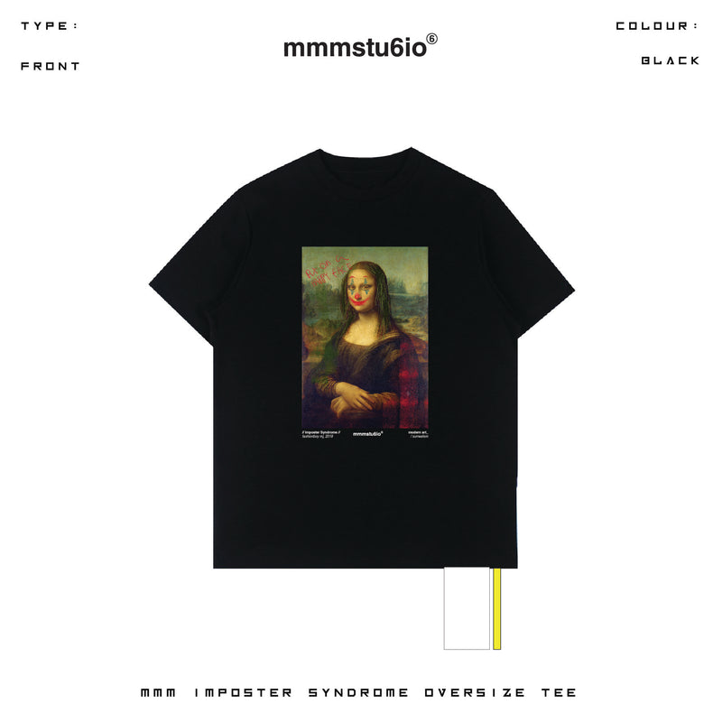 MMM Happy Lisa Oversized Tee