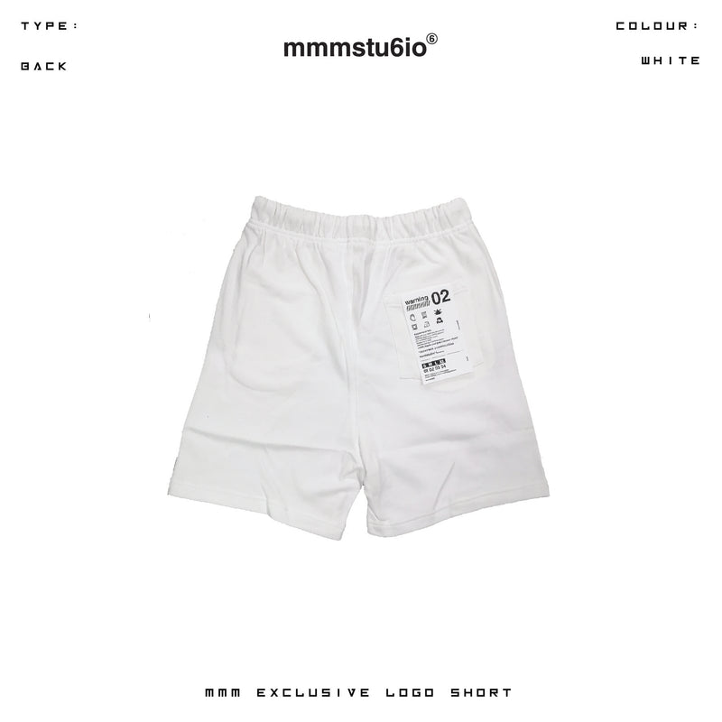MMM Exclusive Logo Short (White)