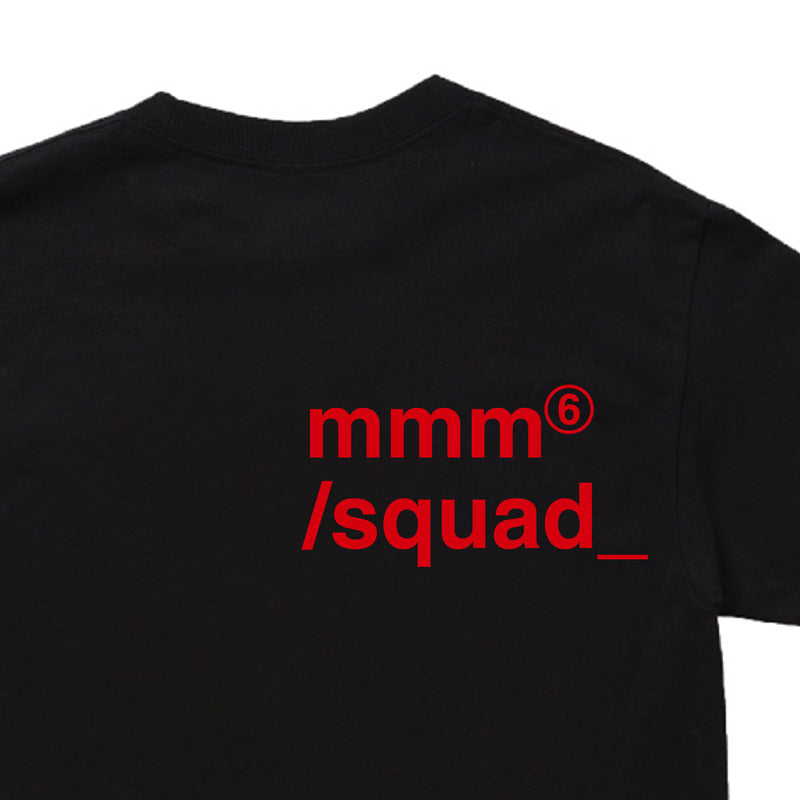 mmm squad tee (red tape)