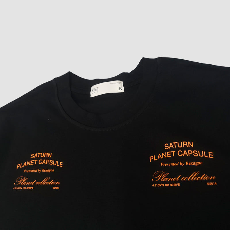 Reflective Skeleton Tee (Orange)