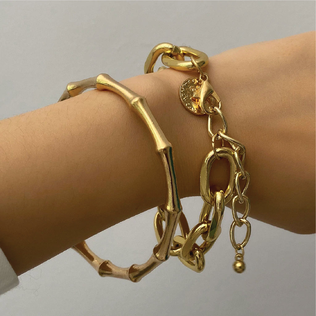 Zoe Toggle Chain Choker Bracelet