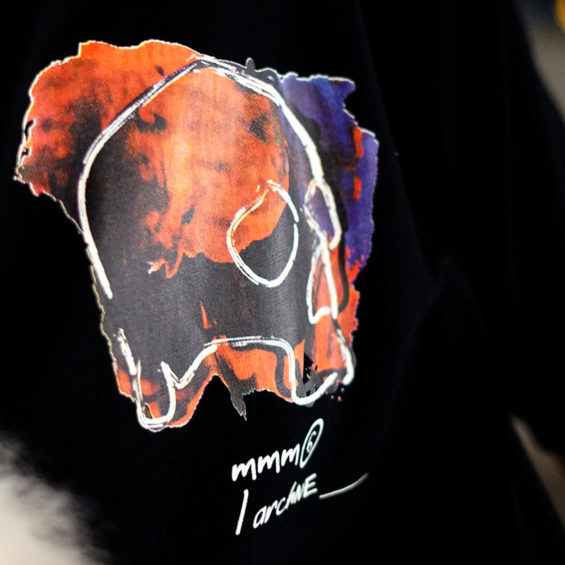 MMM Blood Skull Tee (Black)