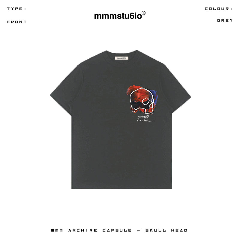 MMM Blood Skull Head (Grey) Online Exclusive