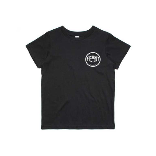 Circle logo Kids / Youth Tee (Black)