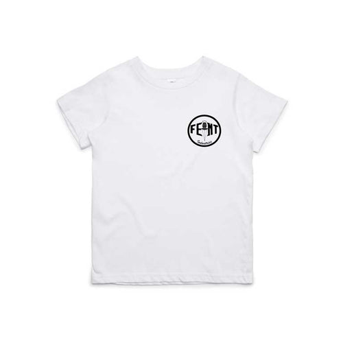 Circle logo Kids / Youth Tee (White)