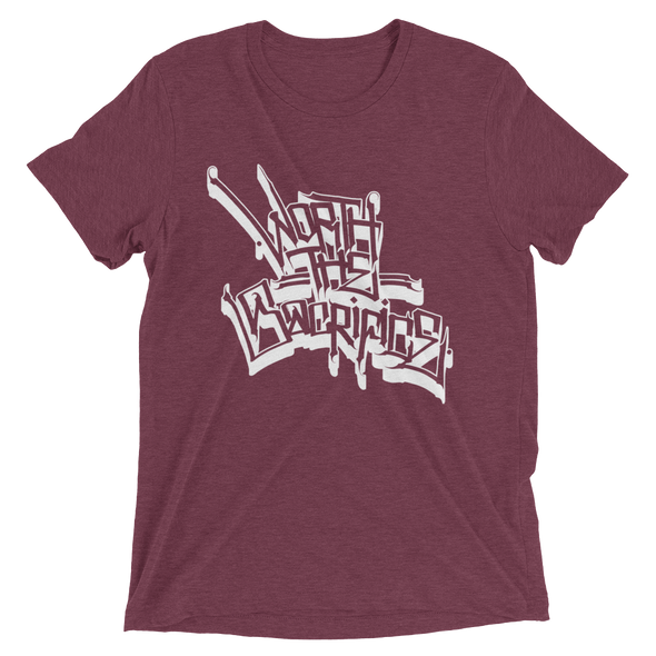 Worth The Sacrifice Tee - Maroon