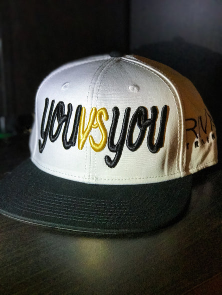 "Test Design ""you vs you"" Snapback"