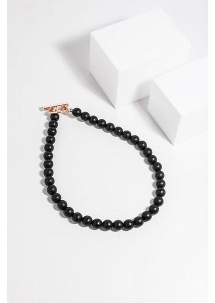 Barney Necklace in Black