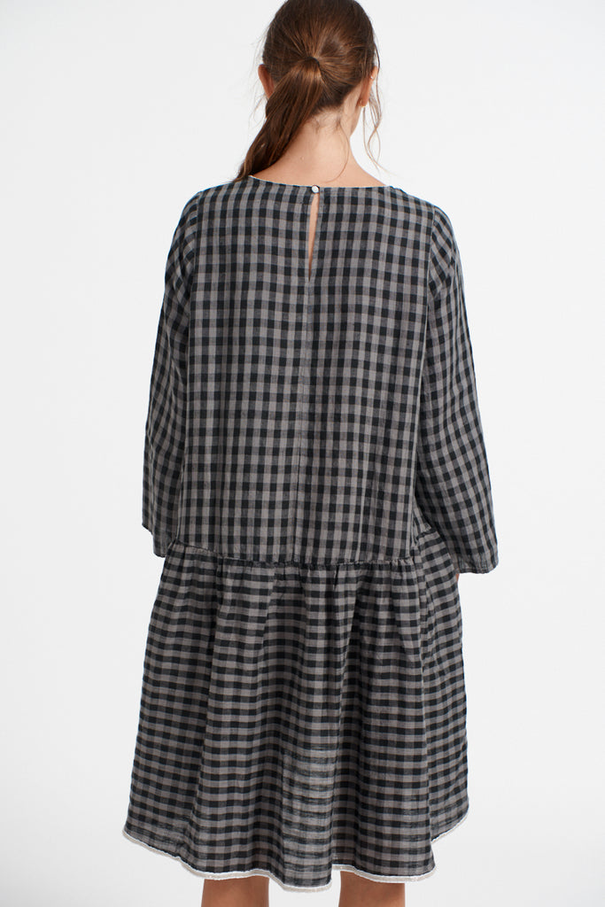 Babydoll Dress in Gingham