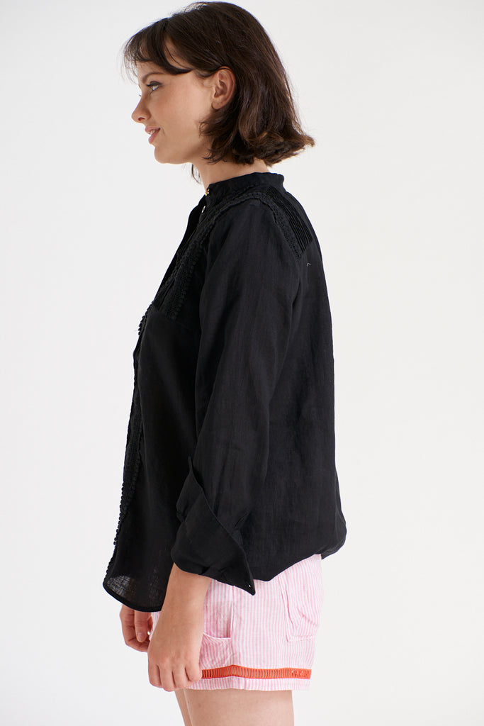 Vienetta Shirt in Black