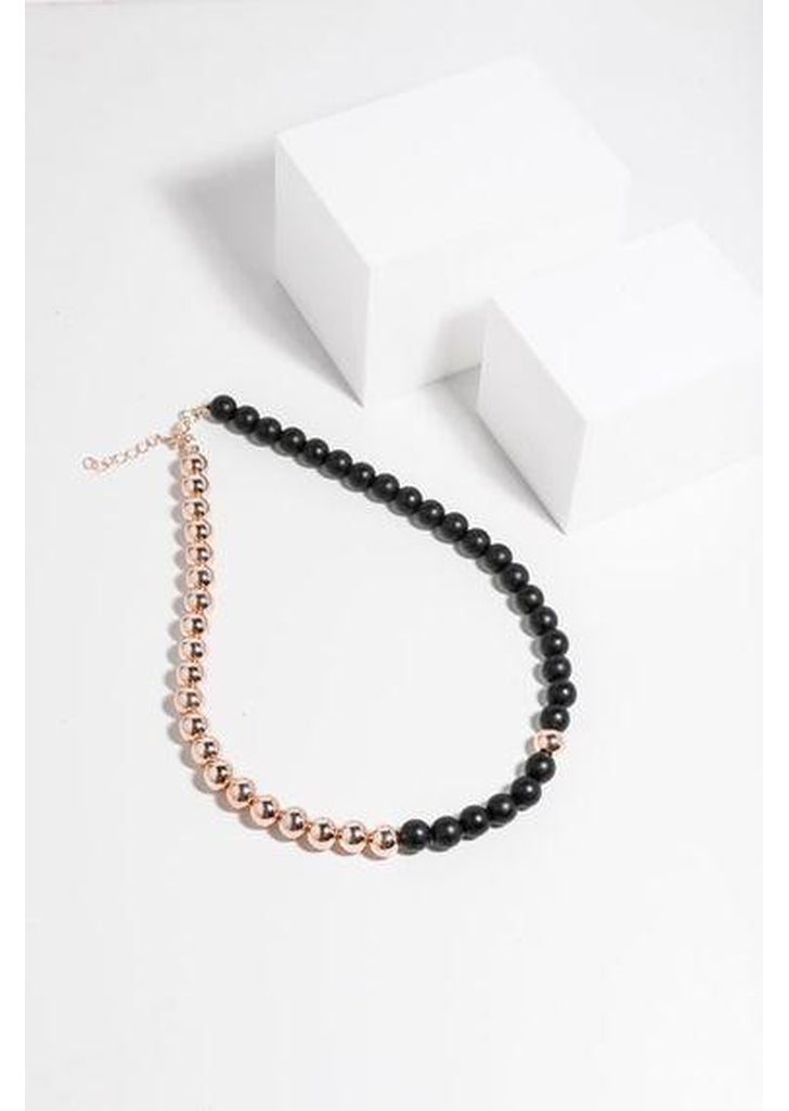 Bailey Necklace in Black