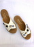 White Jewelled Slides