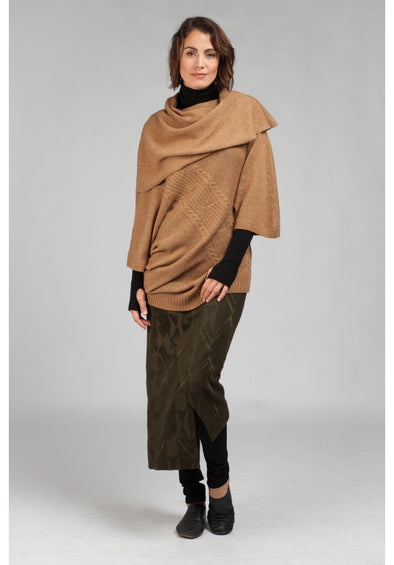 Birch Knit Top - Wheat