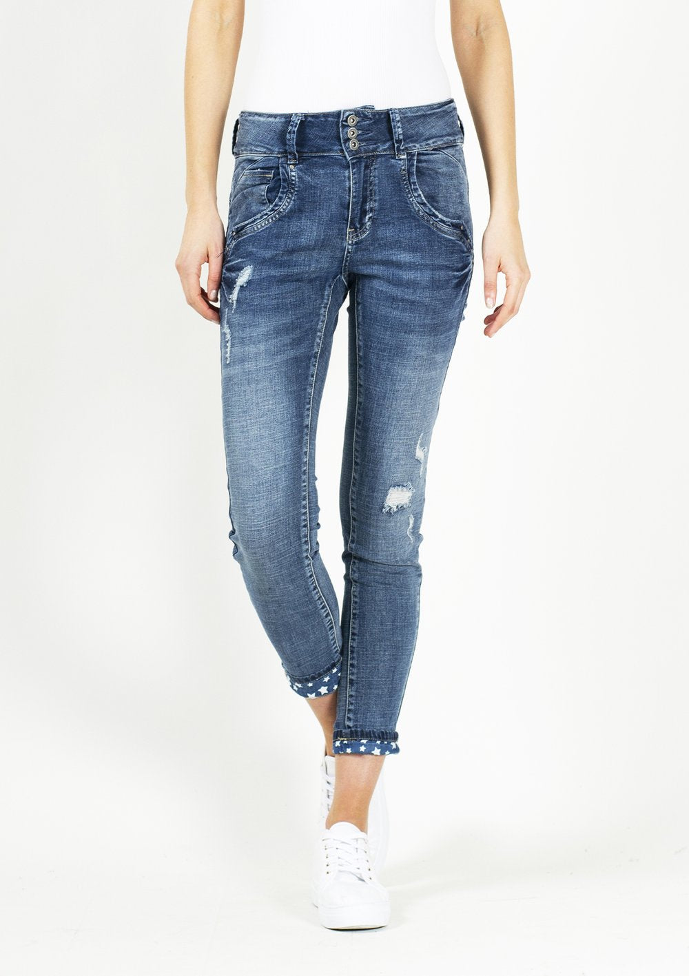 Kim Jean in Medium Blue Denim - PREORDER