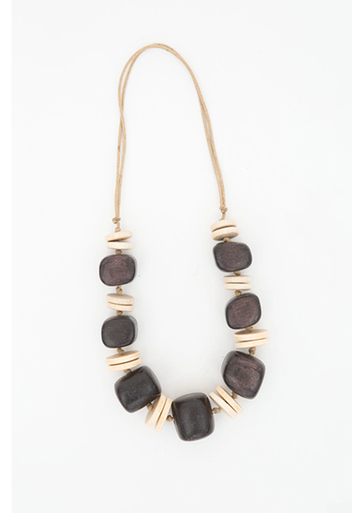 Waterbury Necklace - Chocolate