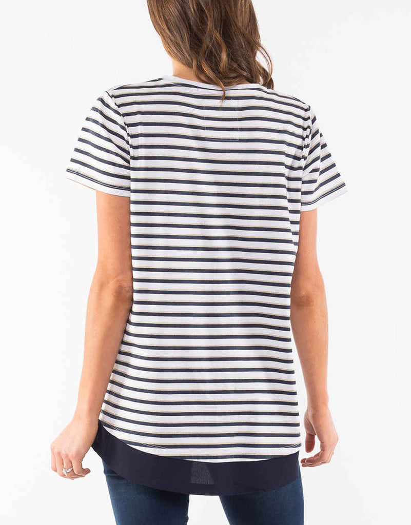 Aurora Stripe Top