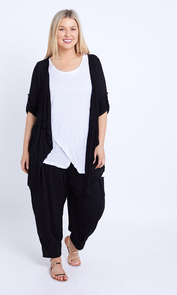Light Weight Waterfall Cardi