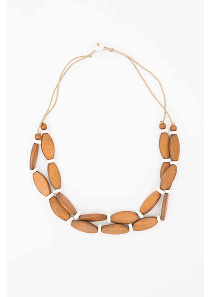 Houston Necklace - Tan