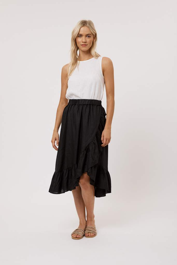 Calypso Skirt in Black
