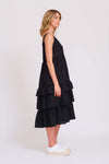 Ra Ra Dress in Black
