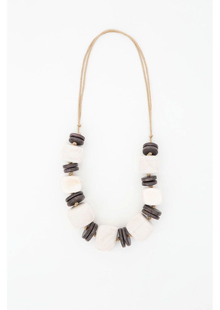 Waterbury Necklace - White