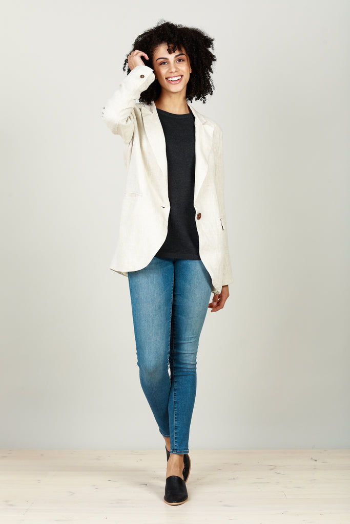 Asti Blazer in Natural