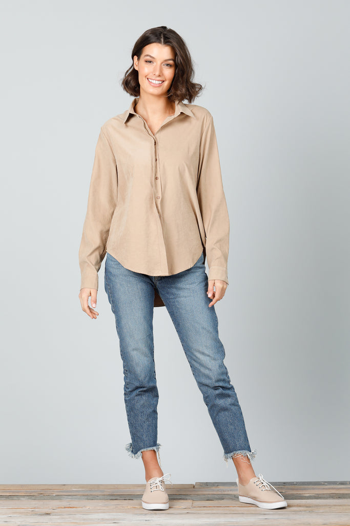 Outback Shirt in Tan