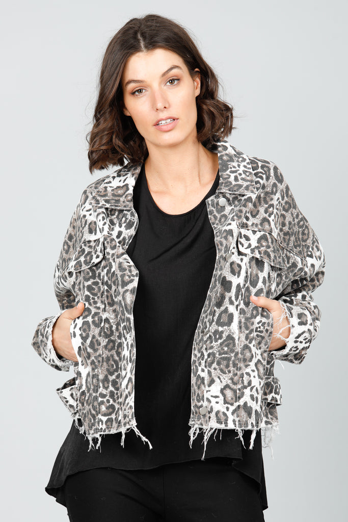 Hinterland Jacket in Animal Print