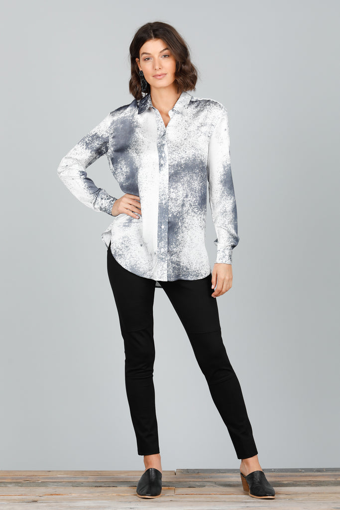 Cleo Shirt in Space Print