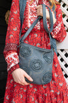 Twyla Crossbody in Denim