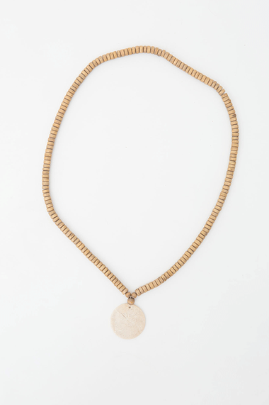 Jersey Circle Necklace - Fossil