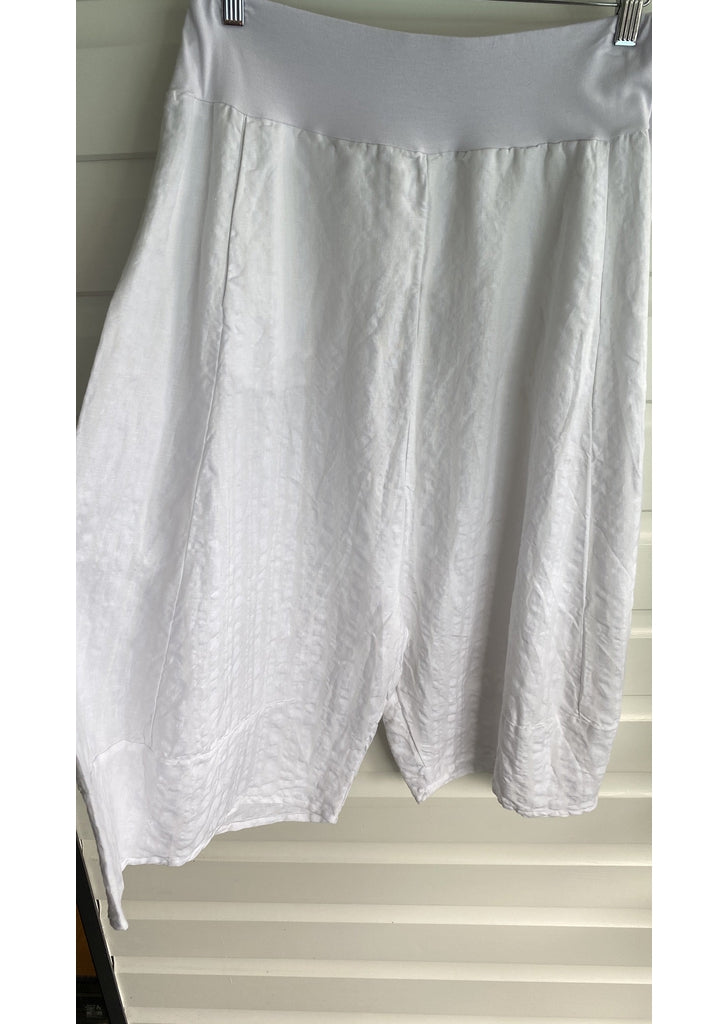 Camp Culottes in White