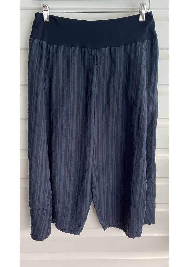 Camp Culottes in Charcoal