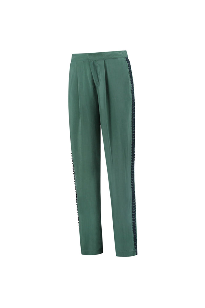 Bayou Green Pants by Katja