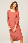 Batwing Dress in Rose