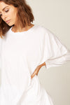Luna Tunic in Blanc